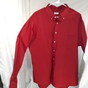 Mens Red Shirt by IZOD